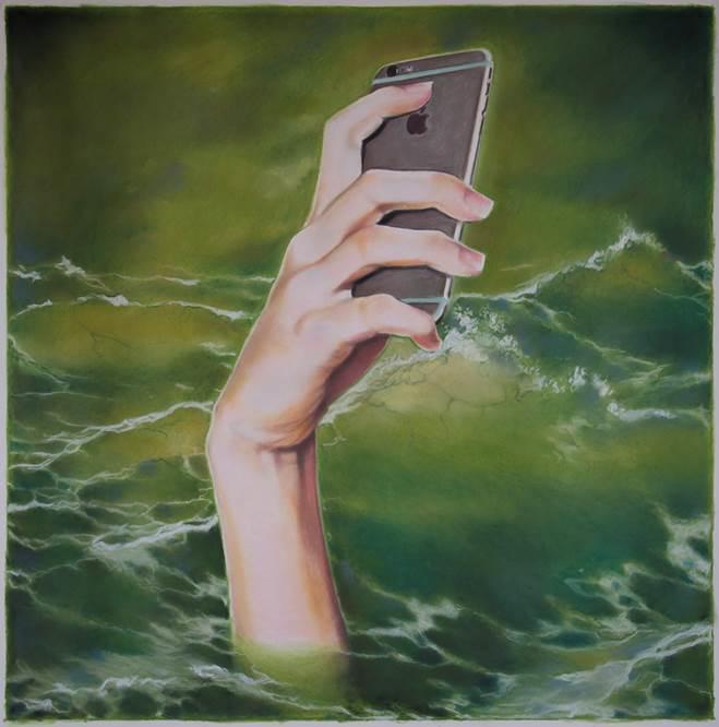 Eric Yahnker Selfie Preservation